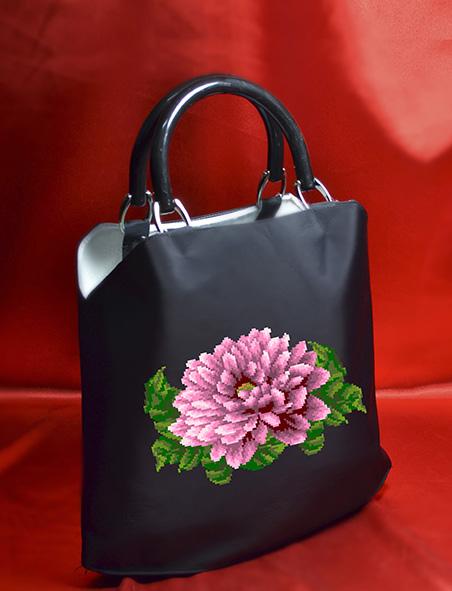 Заготовка для вишивки сумки 04-3 (чорна)  0e3d95ea5caad